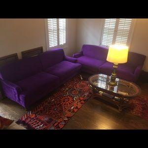 Joss & Main Purple Sofa